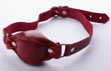 Красный кляп, натуральная кожа, 1500руб. Купить кляп для сексуальных ролевых игр БДСМ.