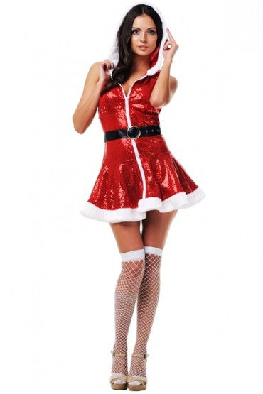 Новогоднее платье снегурочки, 3800руб. Купить эротический костюм снегурочки.