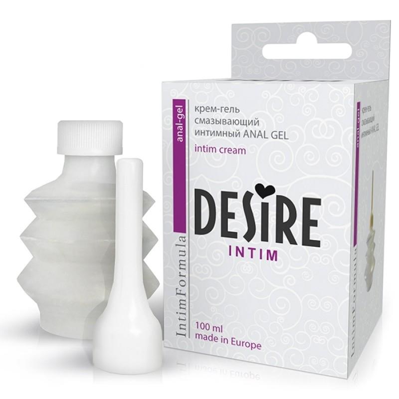Desire Крем-гель Anal Gel, 100мл, 1200руб. Купить анальный лубрикант.