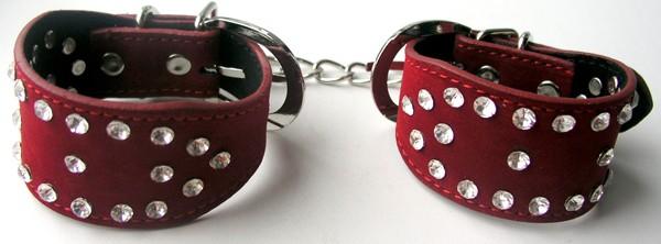 Наручники со стразами, 1650руб. Купить наручники для сексуальных игр БДСМ